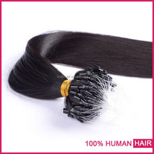 Directly From Factory Wholesale Price 7a brazilian human hair type micro bead hair extension
