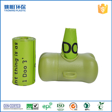 Wholesale custom color plastic dog poop bags pet waste bag with dispenser