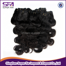 individual human hair eyebrow hair accessories afro kinky hair extensions