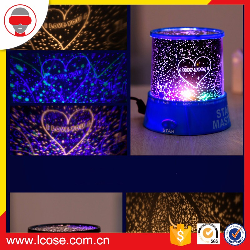 Lcose Amazing Romantic LED Night Light Projector Lamp