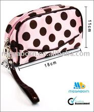 Brand Promotional cosmetic bag cosmetic case make up gift bag, cosmetic organizer
