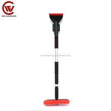Ice away plastic long handle cleaning snow brush ice scraper