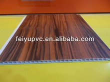 Laminated Sheet Width 38cm Thickness 7mm Interior PVC Wall Paneling & PVC Ceiling Board