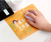 printed cute rubber mouse pad standard mouse pad with cheap price
