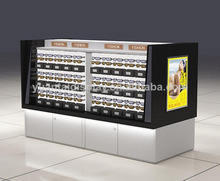 china manufacturer eyeglasses cabinet locking sunglass display cases , sunglass kiosk factory