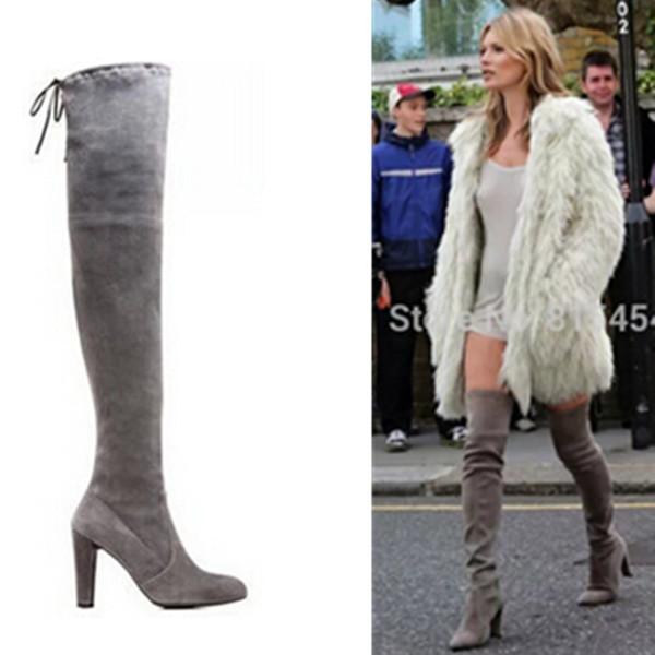 Cheap Brown Suede Thigh High Boots, find Brown Suede Thigh High ...