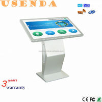 indoor application full hd 32 inch All In One PC LCD Touch Monitor IR Interactive kiosk
