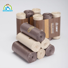 Boomjoy Disposable High Quality PE Plastic Pet Waste Bags on roll 3 in 1