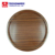 Food Serving Non-slip Round Shape Wooden Tray