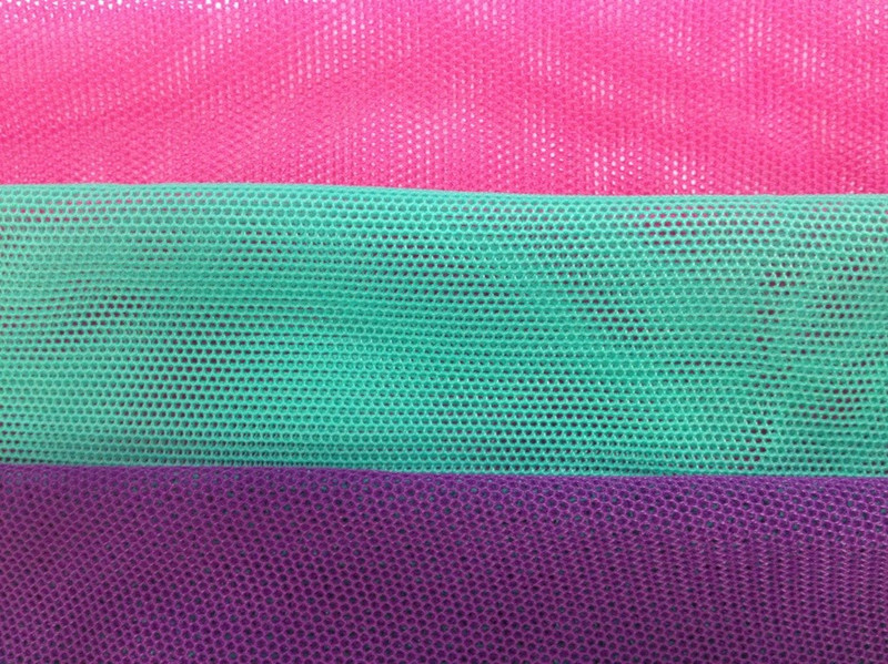 Tricot knitting Nylon Spandex Polyamide Stretch Mesh for Swimming Wear Lining US Power Net Stretch Mesh for swimwear lining