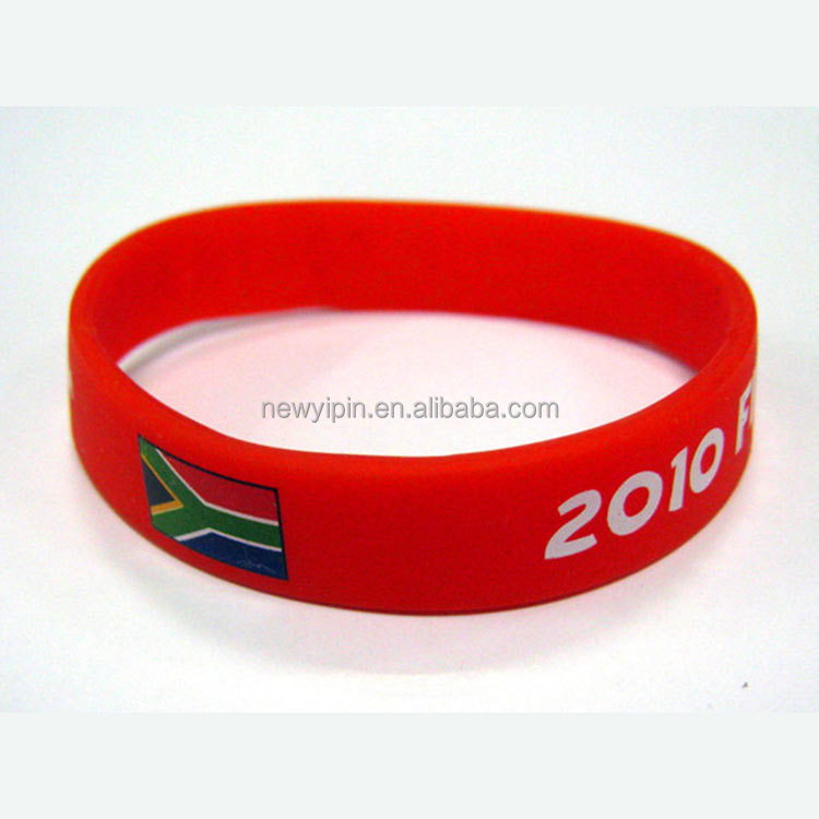 Manufacturer Promotional Items Free Sample Rubber Bnad Silicone Bracelet World Cup Wristbands