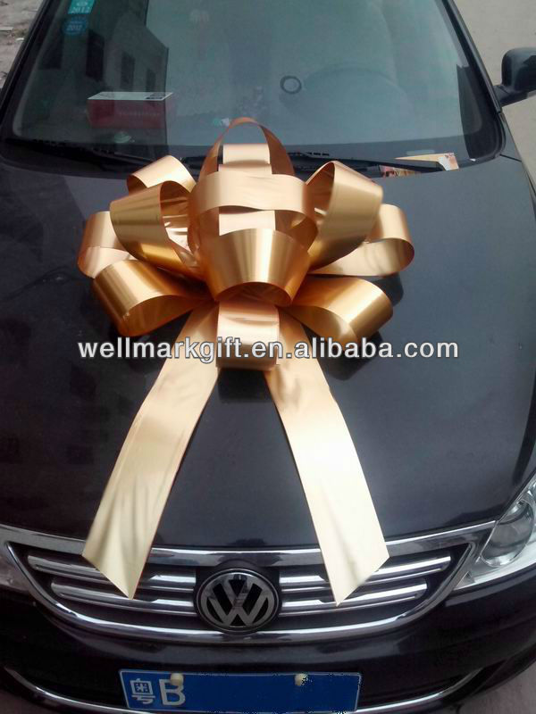 """HOT SALE 30"""" Indoor Outdoor Waterproof Giant Christmas Decorative Magnetic Car Bow"""