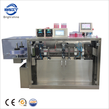 China small portable liquid plastic ampoule forming filling and sealing machine