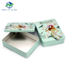 Existing mould luxury cosmetics set makeup box decorative tins wholesale bulk tin containers