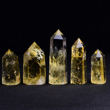 Large size natural crystal citrine points crystal points citrine crystal wand