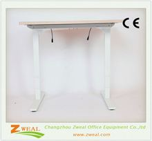 metal frame adjustable laptop table sit-stand stand desktop desk