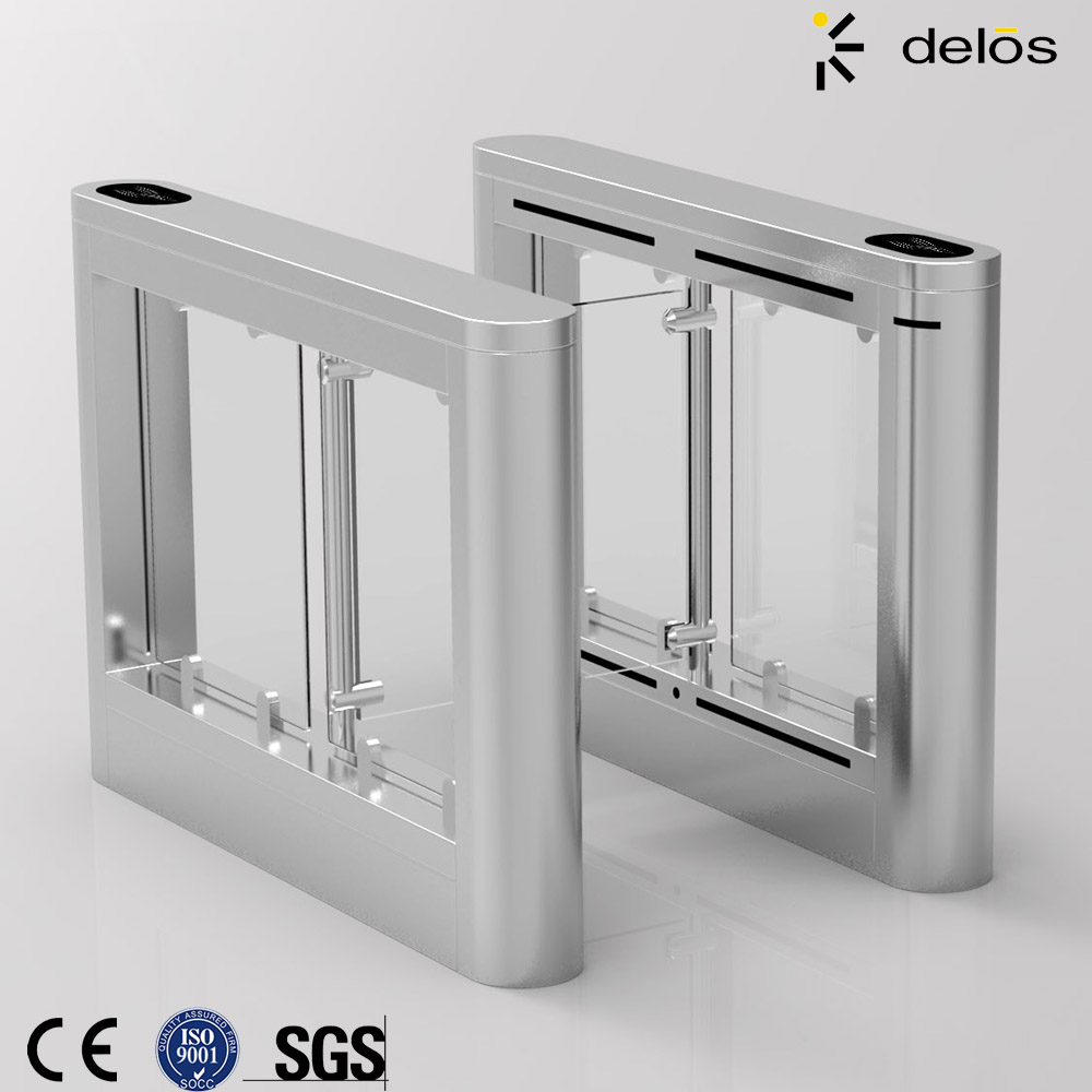 Swing barrier of intelligent finger print gate access control