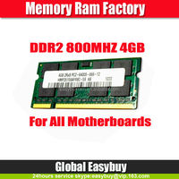 Low density ram memory 4GB DDR2 notebook paypal