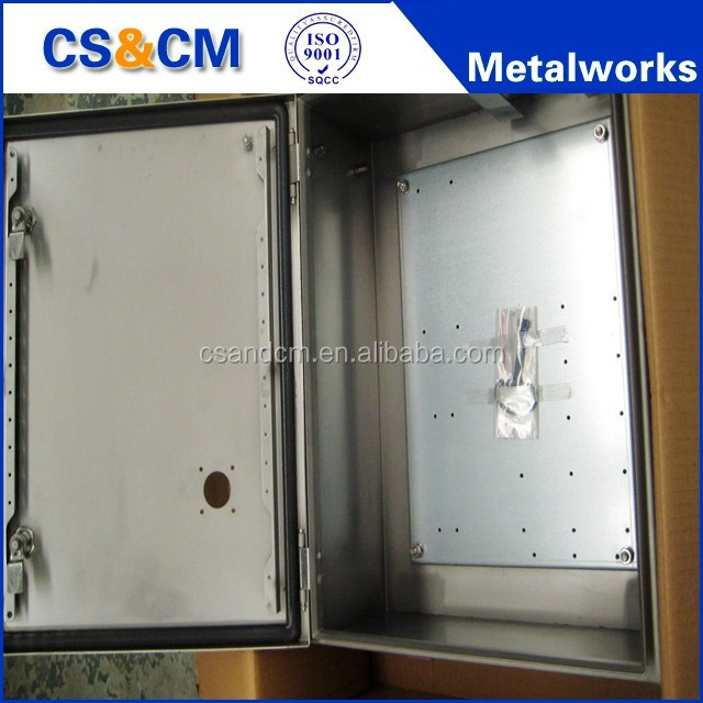 Customized waterproof IP66 stainless steel cabinet