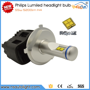 Newsun New arrival Phili ps MZ H4 110w 10000 lumen 6G led headlight