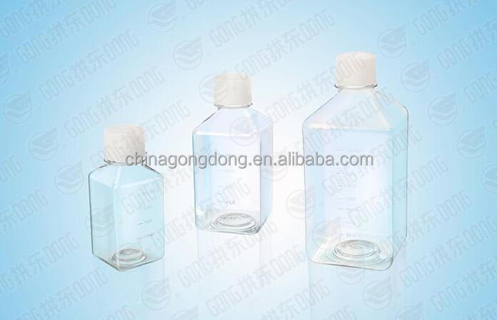 laboratory cell culture tissue culture media bottle