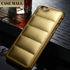 Sofa Pattern Leather For iPhone 6 back cover ,For iPhone 6 4.7inch Leather back case ,Crazy Horse leather For iPhone 6 back case