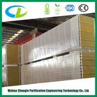 Construction material structural insulated panel rockwool sandwich panel