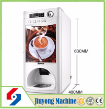multi-function instant coffee machine coin push automatic coffee vending machine sapoe instant coffee vending machine