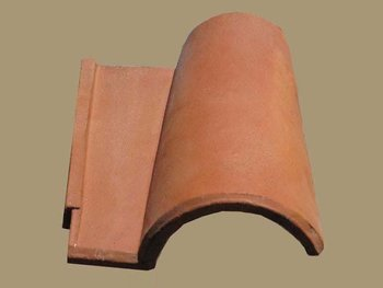 Spanish Roof Tile 9""