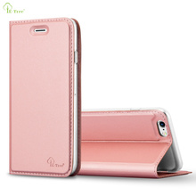New style pu leather flip cover for apple iPhone 6 mobile phone leather case with view window stand function