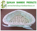 Heart shape bamboo fruit basket