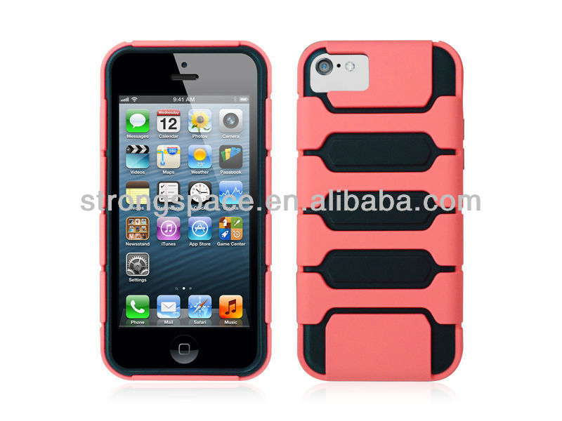 for iphon 5c mobile phone case double