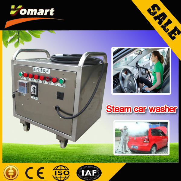 2015 CE 6KW mobile steam car wash machine commercial dry steam cleaner 30kw