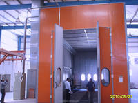 Bus spray booth(Customized)
