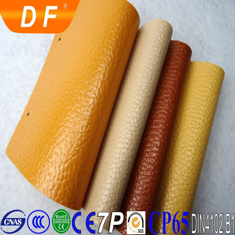 Good quality faux leather for women bags shoes made in china sofa leather/rexine