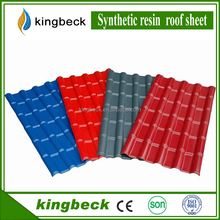 Best price Lightweight Synthetic Resin Building Material Spanish Plastic Roof shingle