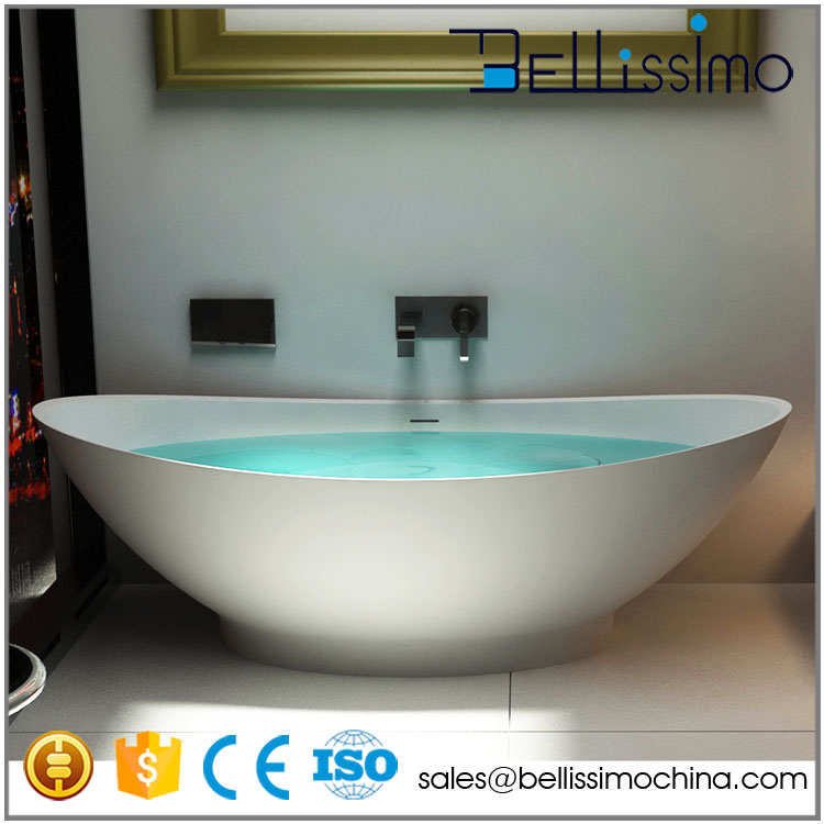 China Bathtub factory Manufacture Artificial stone bathtub BS-8609