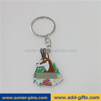 Sonier-Pins hot sale sheep shape keychain key rings fobs for car keys