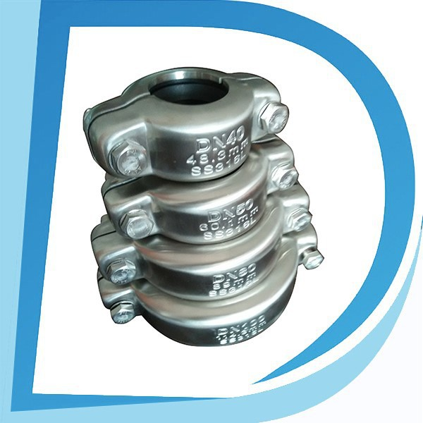 "Top Quality 1"" DN25 33.4mm carbon steel saddle coupling for grooved pipe On Sale"
