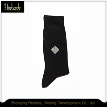 Custom name brand design mens novelty socks