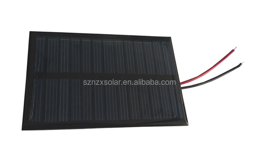 Popular Chinese factory PET laminating 0.55 W solar panel with CE and UVL