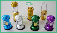Camping Colorful windproof vintage candle lantern
