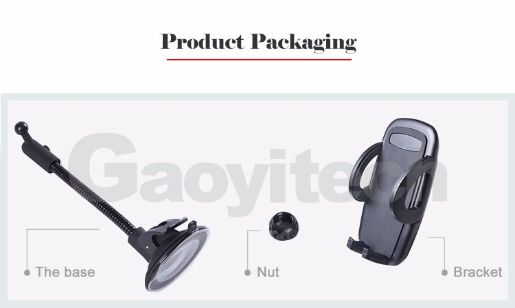 2017 universal steady holder gooseneck car window holder mobile phone holder