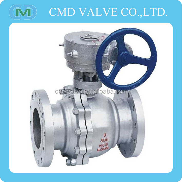 2PC A216 WCB 3 Inch 5 Inch 6 Inch 8 Inch Ball Valve Price For LPG Gas