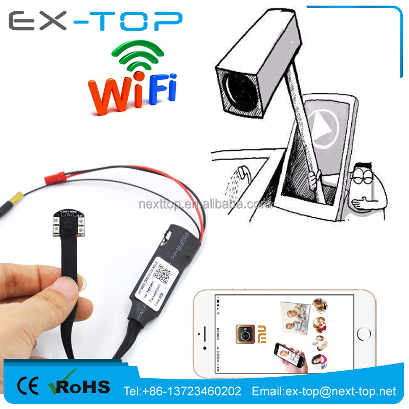 <strong>1080P</strong> very small hidden camera Invisible ir mini camera wifi remote live view by ios andriod pc built-in battery