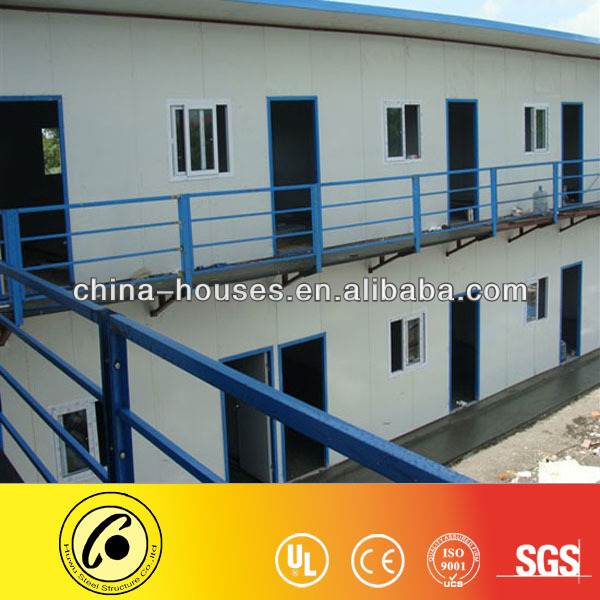 China ISO9001 Certificated Prefab House