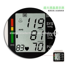 Hot selling wireless wrist blood pressure monitor upper wrist blood pressure monitor made in China