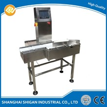 Automatic online weigh check machine, stainless steel waterproof checkweigher