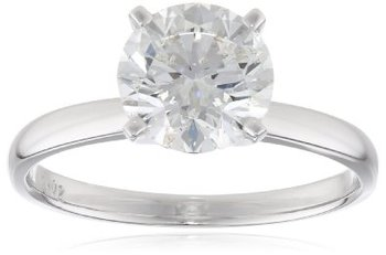 IGI Certified 14k Gold Classic Round-Cut Diamond Engagement Ring (2.0 cttw, H-I Color, SI1-SI2 Clarity)