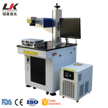 3W 5W UV laser marking machine for non-metal & metal Plastic with 355nm wavelength